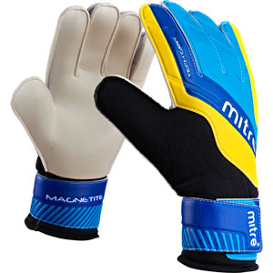 Goalkeeper Gloves Mitre Magnetite
