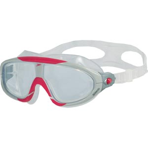 Speedo Biofuse Rift Swimming Mask Red/Clear