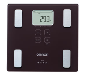 Omron BF214 Digital Scales with Body Fat Monitor