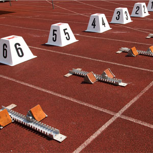 Apollo Olympic Mark 1 Starting Blocks