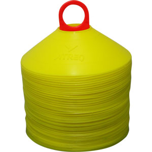 ATREQ Marking Cones 50 Set Yellow