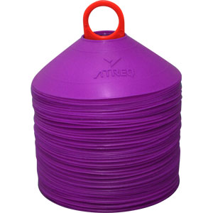 ATREQ Marking Cones 50 Set Purple