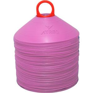 ATREQ Marking Cones 50 Set Pink