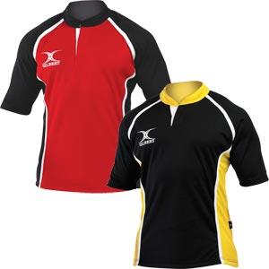 Gilbert Xact Two Tone Match Junior Rugby Shirt