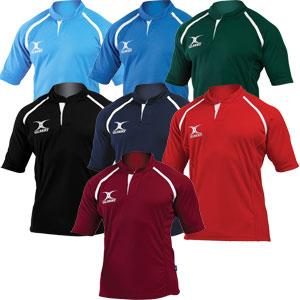 Gilbert Xact Plain Match Junior Rugby Shirt