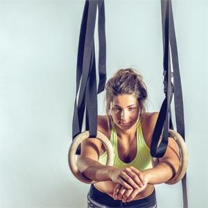 Apollo Wooden Gym Rings