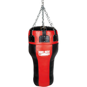 Pro Box Leather Uppercut Punch Bag