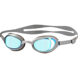 Speedo Aquapure Mirror Female Swimming Goggles Chrome/Violet