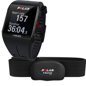 Polar V800 GPS Sports Watch with Bluetooth Belt