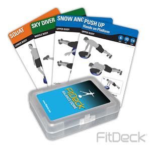 FitDeck Balance Dome Cards