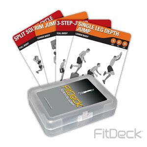 FitDeck Vertical Jump Cards