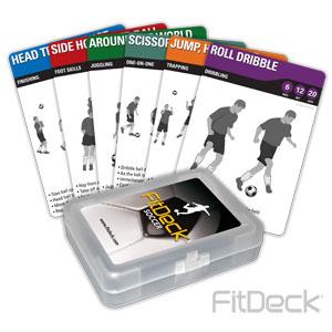 FitDeck Soccer Cards