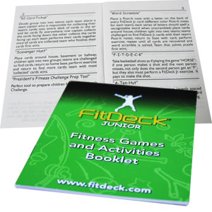FitDeck Games and Activity Booklet