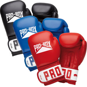 Pro Box Club Essentials Leather Sparring Gloves