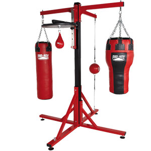 Pro Box Colossus Four Station Frame With Speedball Option