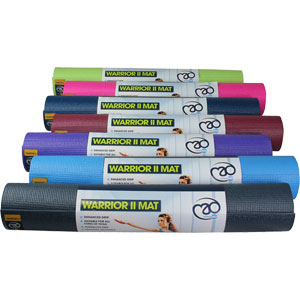 Fitness Mad Warrior II Yoga Mat