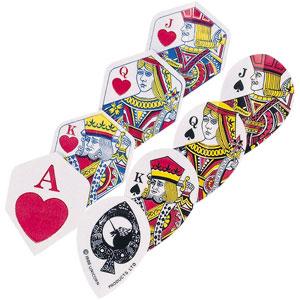 Unicorn Core .75 Ace of Hearts Darts Flights 3 Pack