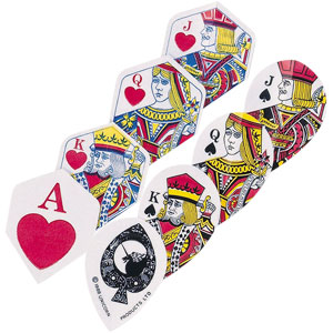 Unicorn Core .75 Ace of Hearts Darts Flight Pack