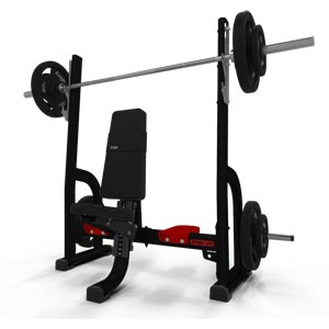 Exigo Olympic Shoulder Press Bench