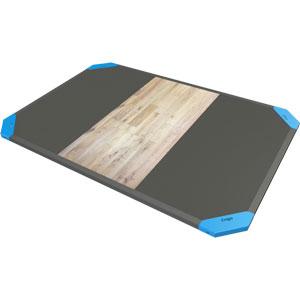 Exigo Oak Centre Rubber Lifting Platforms