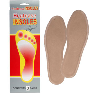 Mycoal Heatease Insole Warmer Pack