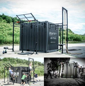 BeaverFit Forward Operating Base Locker 10