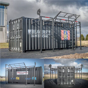 BeaverFit Forward Operating Base Locker 20