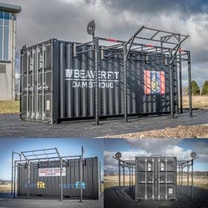 BeaverFit Forward Operating Base Locker 20