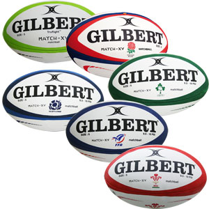 Gilbert Match XV Rugby Ball