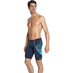 Speedo Fit V Jammer Navy/Blue