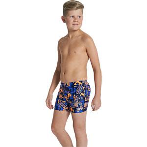 Speedo Boys Allover Print 48 Aquashort