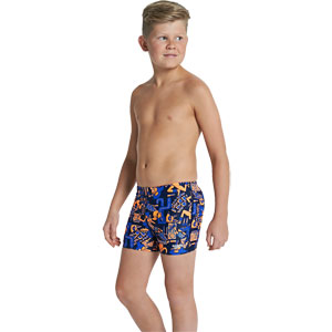 Speedo Boys Allover Print 48 Aquashort