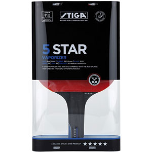 Stiga Vaporizer 5 Star Table Tennis Bat