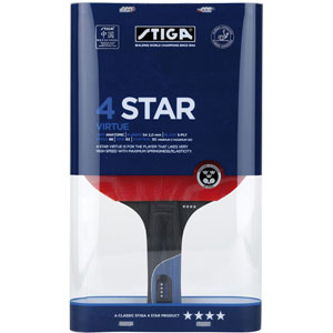 Stiga Virtue 4 Star Table Tennis Bat