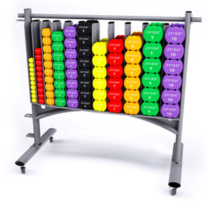 Jordan Studio Dumbbell Rack