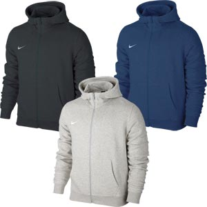 Nike Team Club Full Zip Junior Hoody