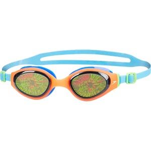 Speedo Holowonder Junior Swimming Goggles Smoke/Siren/Japan Blue
