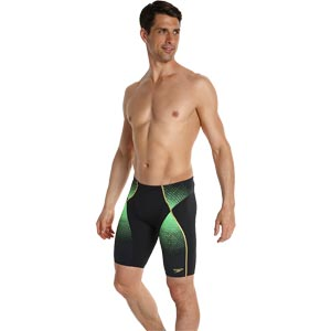 Speedo Fit Pinnacle Jammer Black/Green