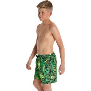Speedo Boys Jungle Camo Printed Leisure Watershorts