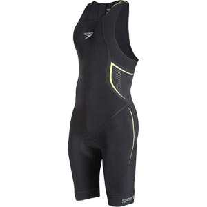 Speedo Elite E16 Tri Suit Black/Yellow