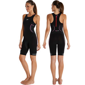 Speedo Elite E16 Tri Suit Black/Pink