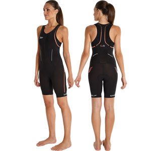 Speedo Comp E16 Tri Suit Black/Orange