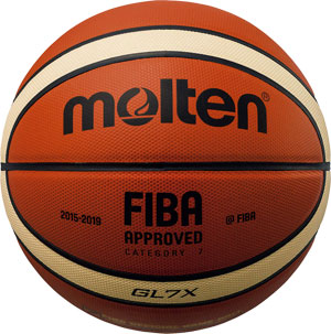 Molten GLX Official Leather Basketball