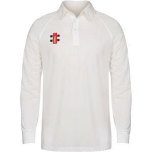Gray Nicolls Matrix Shirt Long Sleeve Cricket Shirt