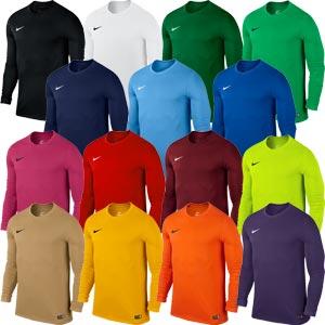Nike Park VI Long Sleeve Junior Football Jersey