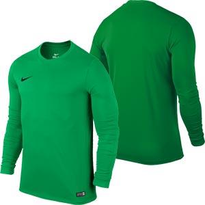 Nike Park VI Long Sleeve Senior Football Shirt Hyper Verde