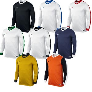 Nike Striker IV Long Sleeve Junior Football Jersey