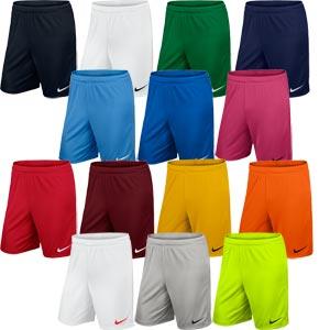 Nike Park II Knit Senior Football Shorts