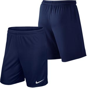 Nike Park II Knit Junior Football Shorts Midnight Navy