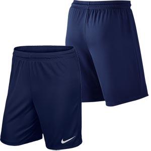 Nike Park II Knit Senior Football Shorts Midnight Navy